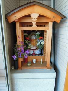 上京区一条御前東入西町のお地蔵さん