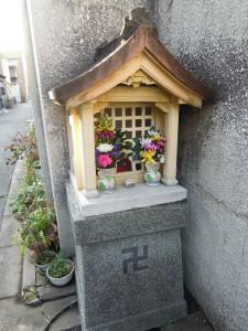 上京区柳図子町のお地蔵さん