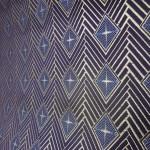 西陣織 金襴 正絹 菱つなぎ紋様