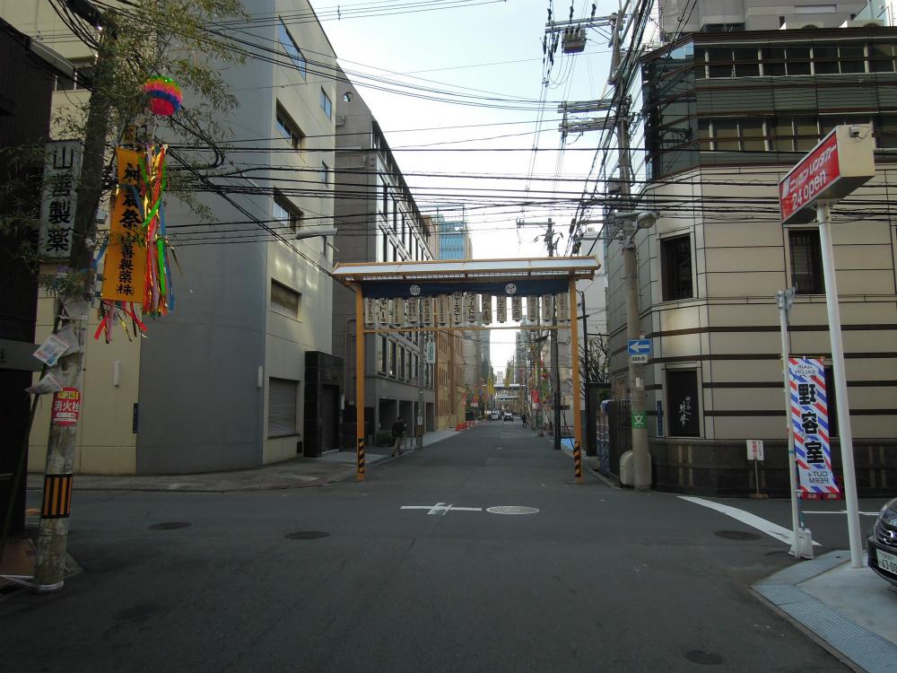 大阪北浜-少彦名神社の神農祭
