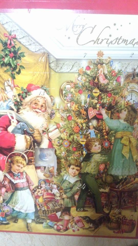 クリスマスに向けて アドベントカレンダー