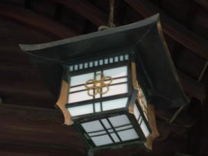 大阪 福島天満宮 「梅鉢紋様」