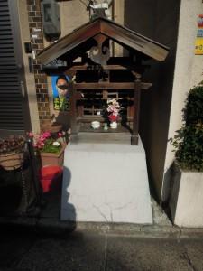 左京区岡崎入江町のお地蔵さん