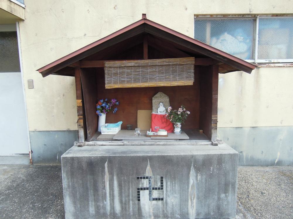 左京区鹿ヶ谷高岸町のお地蔵さん