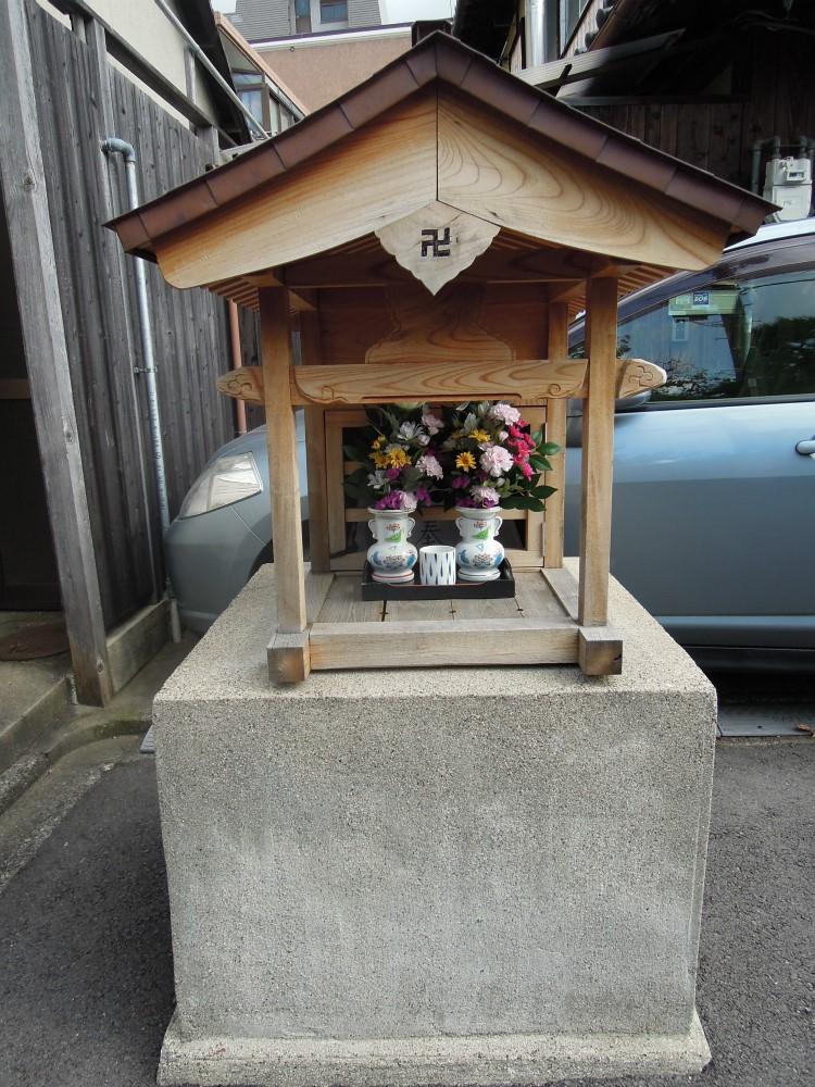 左京区浄土寺下馬場のお地蔵さん