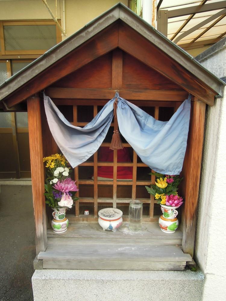 下京区小坂町のお地蔵さん
