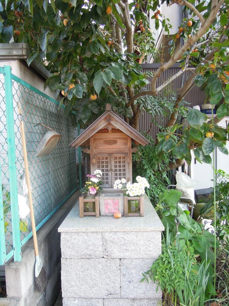 南区東九条松田町のお地蔵さん