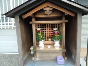 西京区川島六ノ坪町のお地蔵さん
