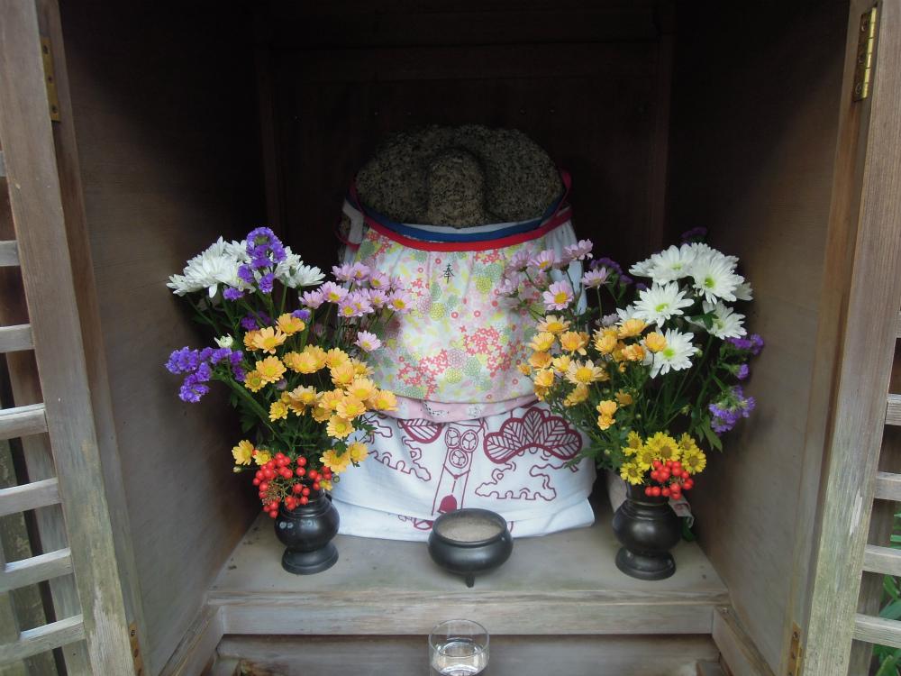 天台宗 青蓮院門跡のお地蔵さん