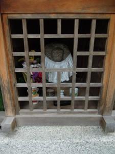 西陣 上立売通大宮東入ル幸在町のお地蔵さんin徳圓寺