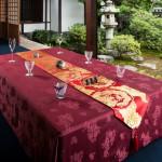 西陣金襴 散雲丸龍テーブルランナー