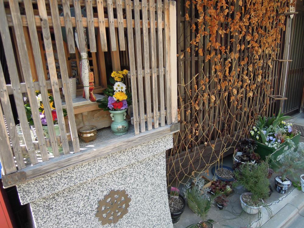 京都市上京区西洞院通一条下る西之口町のお地蔵さん