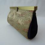 西陣正絹金襴 アフリカ紋様 クラッチバッグ