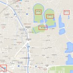 奈良市佐紀町 古墳がいっぱい google map