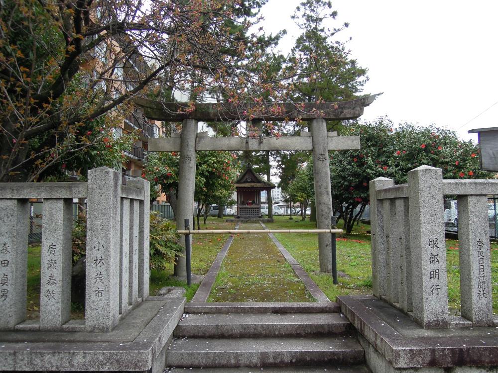 西大寺 石落神社