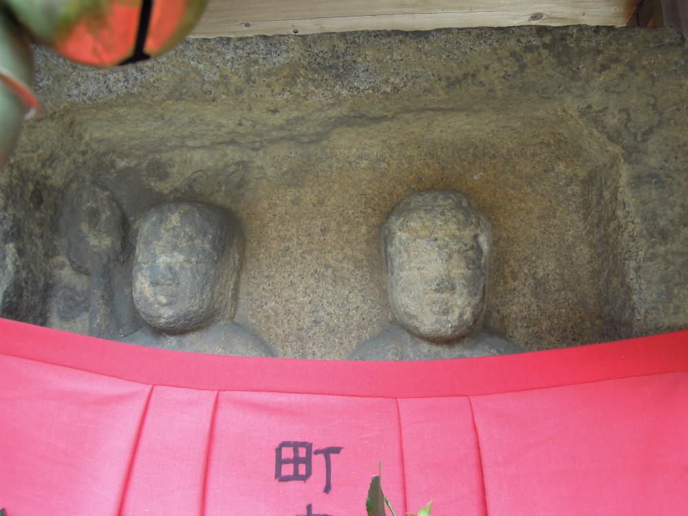 奈良 頭塔下のお地蔵さん