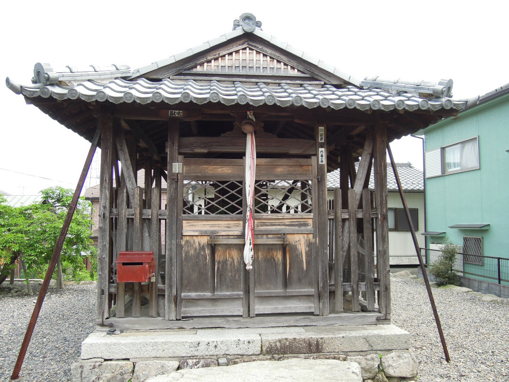比叡山お膝元 坂本 石占神社