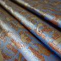 全正絹 西陣織 金襴 アフリカ紋様
