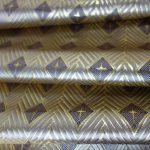 全正絹 西陣金襴 菱繋ぎ紋様