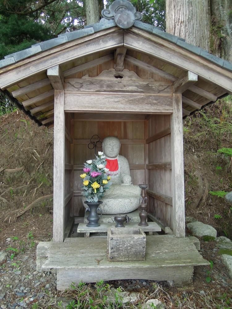 比叡山山頂 お地蔵さん