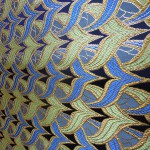 西陣織金襴 全正絹 燕矢紋様 十二釜