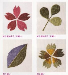 刺繍でよく使う基本の技法