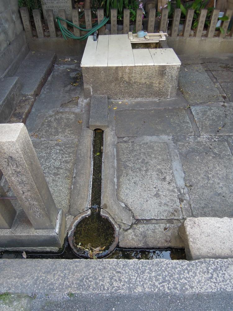天王寺区堀越町 谷の清水