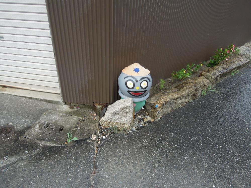 香川県小豆島土庄町 ブイで作ったお地蔵さん