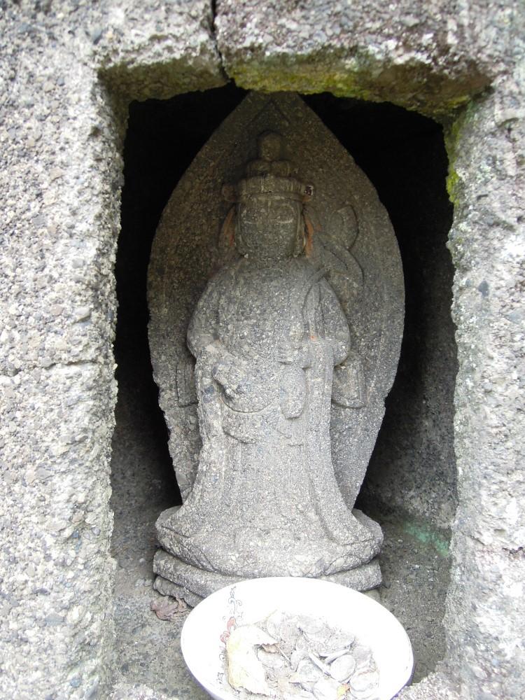 小豆島 西の瀧 お地蔵さん