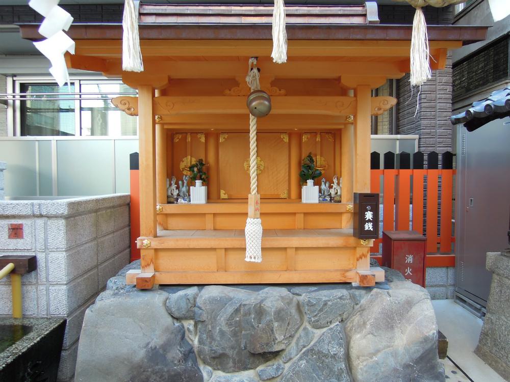 稲荷町 花咲稲荷神社