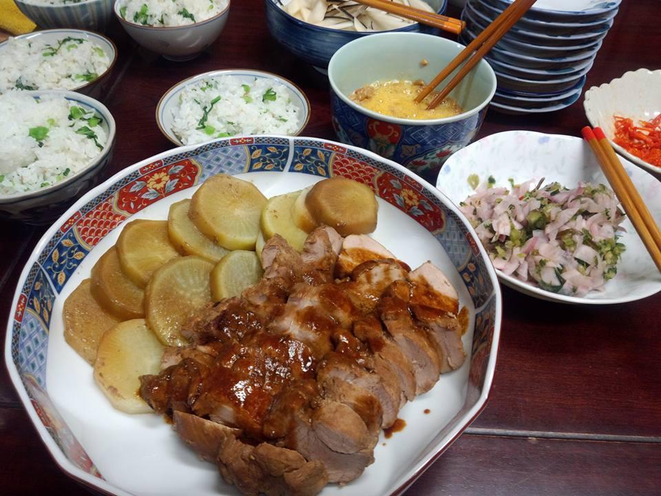 豚ヒレ肉のチャーシュー風煮付け