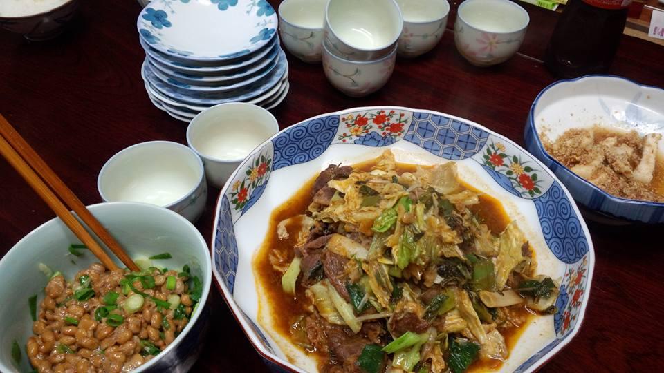 焼肉風味野菜炒め