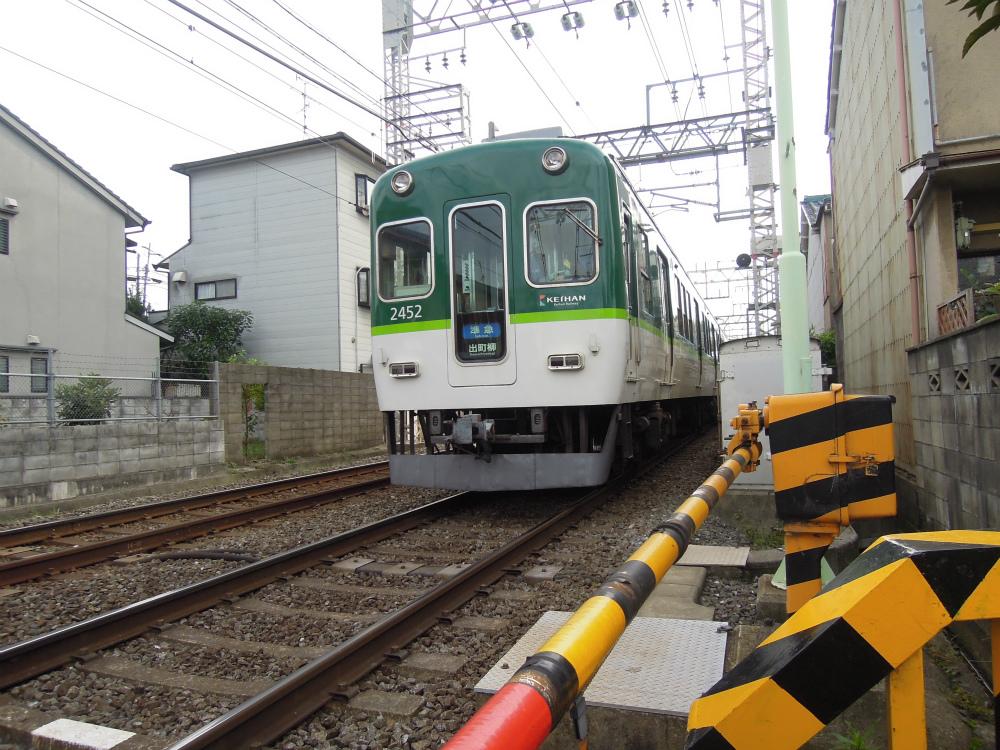 深草綿森町 京阪電車