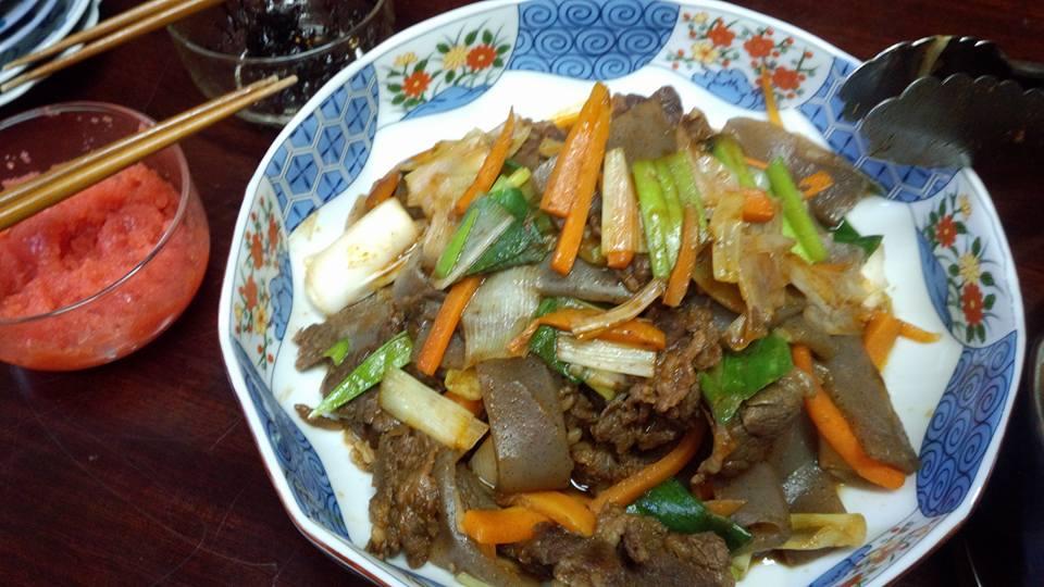 焼肉風野菜炒め