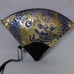 扇形バッグ Fan-shaped bag DISCOVER KANSAI 白茶C