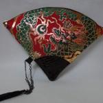 扇形バッグ Fan-shaped bag DISCOVER KANSA 赤B