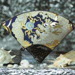扇形バッグ Fan-shaped bag DISCOVER KANSAI 紺B