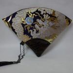 扇形バッグ Fan-shaped bag DISCOVER KANSA 紺B