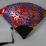 扇形バッグ Fan-shaped bag DISCOVER KANSA 赤A