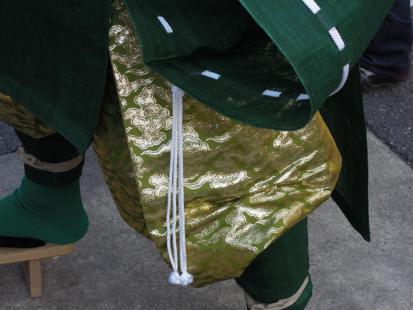 京都護王神社の節分祭 青鬼