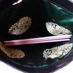 全正絹 西陣金襴 アフリカ紋様のクラッチバッグ