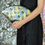 扇形バッグ Fan-shaped bag