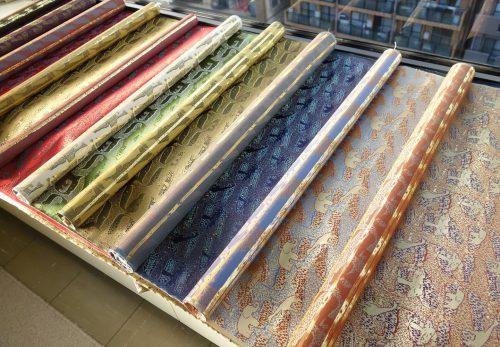 Africa 西陣織 金襴 正絹