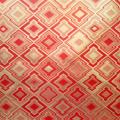 全正絹 西陣織 金襴 三階菱紋様