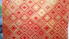 全正絹 西陣金襴 三階菱