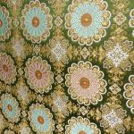 全正絹 西陣 金襴 唐花紋様