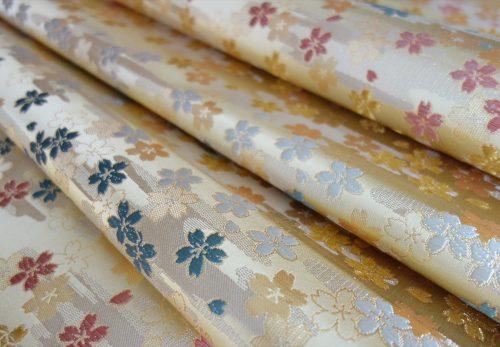 Cherry Blossoms 西陣織 金襴 正絹