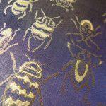 西陣織 金襴 正絹 Insect