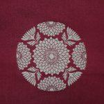 西陣織 金襴 正絹 緞子地 ひなぎく紋様