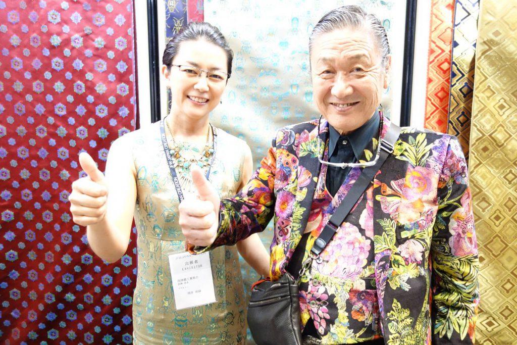 JFW JAPAN CREATION 2018  山本寛斎さんと